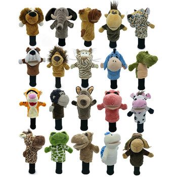 All Kinds Of Animals Golf Head Covers Fit Up To Fairway Woods Men Lady Golf Club Cover Mascot Novelty Cute Gift