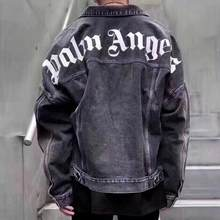 Palm Angels Jackets Men Women Coats Streetwear High Quality Streetwear Bomber Jeans Camouflage Kanye West Palm Angels 3D Jacket(China)