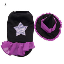 Pet Product Dog Clothes Set Halloween Christmas Pet Dog Clothes Cosplay Wizard Outfits Christmas Cosplay Dress Up Coat Hat juqi christmas coat hat for pet dog red white black size l