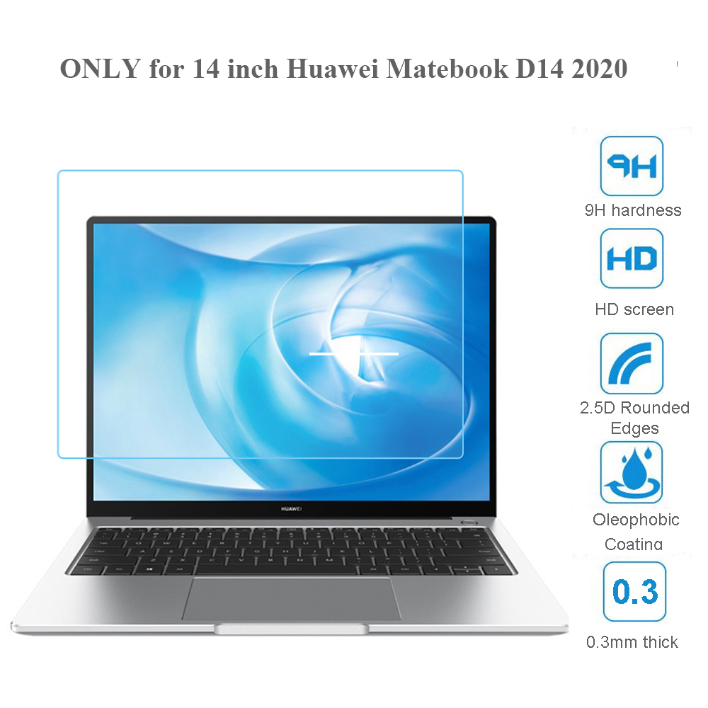 Защита экрана для Huawei Matebook D14 2020, закаленное стекло для ноутбука Matebook D 14 0,3 мм 9H HD 2.5D, Защитное стекло для ноутбука| |   | АлиЭкспресс