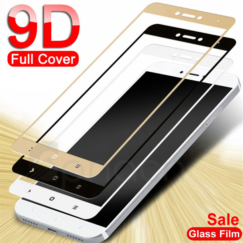 9D Protective Glass For Xiaomi Redmi Note 4 4X 5 5A Pro Screen Protector On The Redmi 5 Plus S2 4X 5A Tempered Glass Film Case