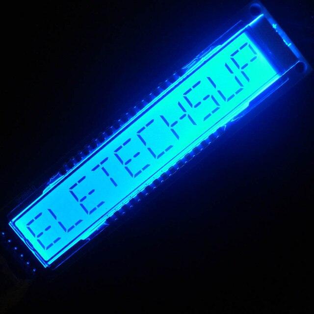 2x10 الرقمية 16Seg أبجدية TM1622 HT1622 SPI شاشة عرض ليد إل سي دي DM8BA10 لاردوينو التوت بي