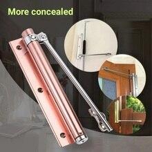Бытовой Регулируемый Автоматический Дверной доводчик автоматический управляемый Дверной доводчик для жилых коммерческих стандартных дверных доводчиков
