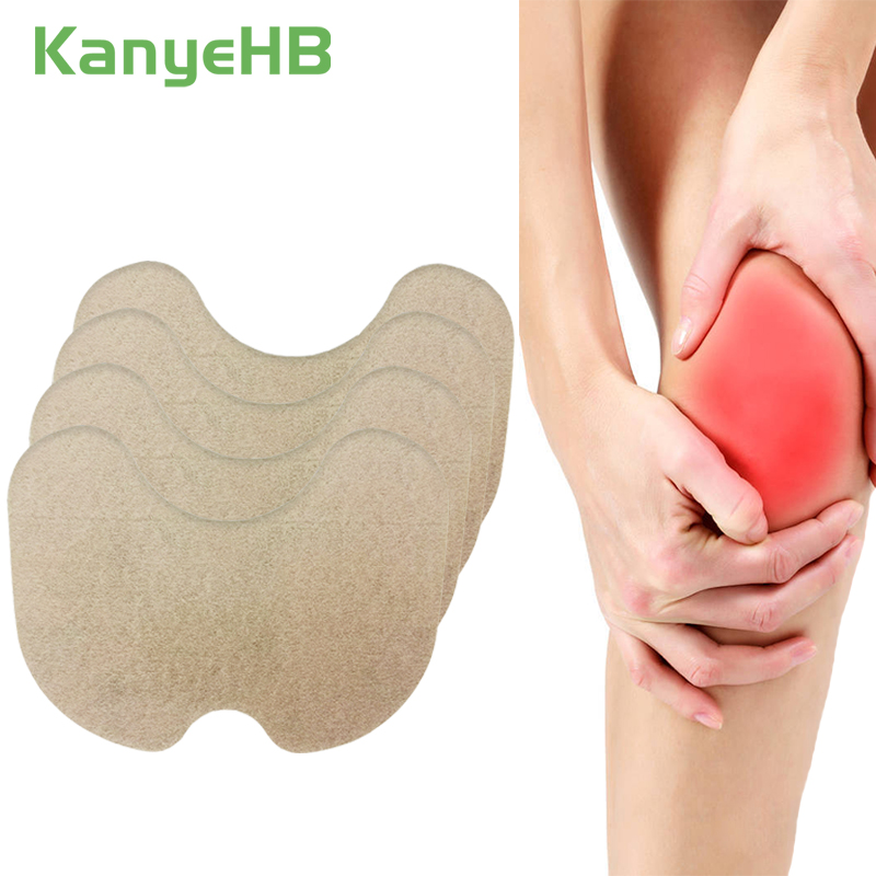 12pcs/lot New Knee Plaster Sticker Wormwood Extract Knee Joint Ache Pain Relieving Rheumatoid Arthritis Patch A177