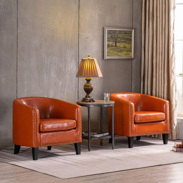 Circle Chair w/ Copper Nails 4
