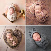 4 шт/5 шт комплекты для новорожденных реквизит фотосъемки ребенок