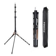 Fosoto FT-190 Gold Ring Lamp Tripod Stand 1/4 Screw Softbox For Photo Studio Photographic Lighting Softbox Video Flash Umbrellas все цены