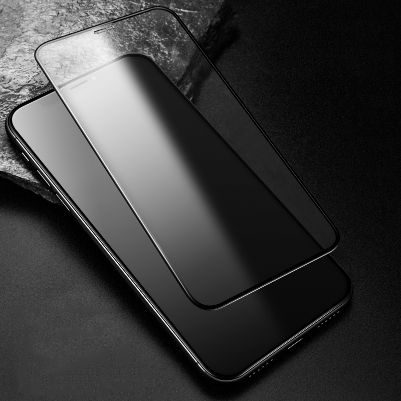9H Frosted Full Cover Tempered Glass Matte Screen Protector for iPhone 11 Pro 5
