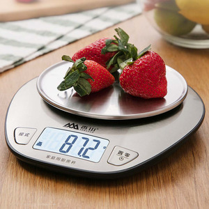 Image 4 - Youpin Mijia Xiangshan Electronic Kitchen Scale EK518 Silver Accurate Weighing Stainless Steel Scale High Precision Sensing