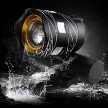 Waterproof USB Rechargeable 15000LM XM-L T6 LED Bicycle Light Bike Front Headlight usb rechargeable 15000lm xml t6 led bike front light bicycle headlamp headlight