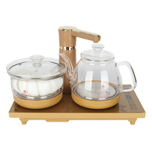 Бытовой автоматический чайник с насосом, электрический чайник, чайная платформа, чайник для кипячения воды, электромагнетизм, чайная печь