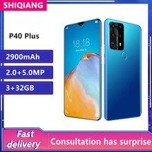 Global Versie P40 Plus Smartphone 3Gb + 32Gb 6.78 Inch Vingerafdruk Unlock Fullscreen Mobilephone 2900Mah Android Mobiel