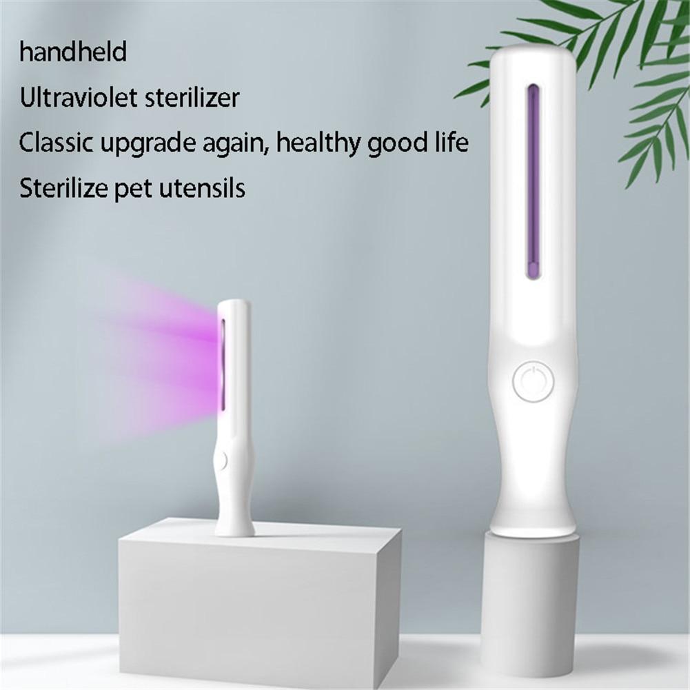 Handheld Uv Light Disinfection Mini Portable UV Sanitizer UV Light Disinfection Lamp For Home Office Travel Lampe Uvc Germicide