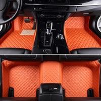Leather Custom car floor Foot mat For Mazda All Models mazda 3 5 6 8 CX 5 CX 7 MX 5 CX 9 CX 4 atenza car styling car accessories