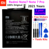 100% Original Replacement Battery For Xiaomi Redmi Note7 Note 7 Pro M1901F7C BN4A Genuine Phone Battery 4000mAh+ Free Tools