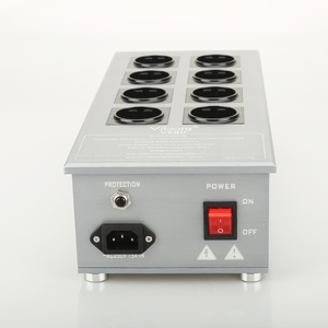 Image 3 - High Quality 8 Ways Schuko Socket AC Power Distributor 3300W/15A 50HZ 3KG Power Plant With Surge Protection VE80 Filter