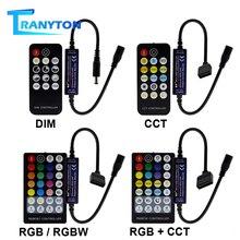 ใหม่LED RF Controller 14/17/28 Keysสำหรับเดี่ยวสี/คู่สีขาว/RGB/RGBW / RGB + CCTไฟLED Strip
