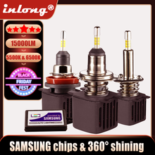H7 Led Canbus Lampada H1 Led ampoules avec Samsung puces H11 H4 LED phare de voiture H8 9005 HB3 9006 HB4 Led lampe 15000LM antibrouillard