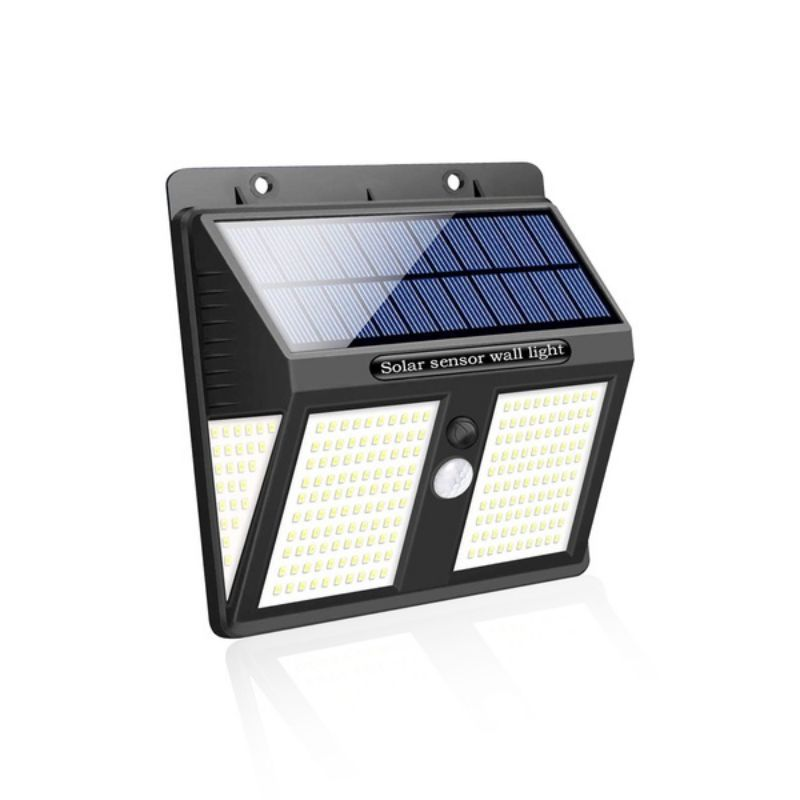 250 LED Solar Wall Light Ultra Bright Motion Sensor Solar Security Light IP65 Waterproof Wireless For Courtyards Easy To Install