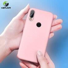 Case For Xiaomi Redmi 7 Y3 Note Liquid silicone Fundas Soft Back Cover Mi 9 mi9 Se 7a y3
