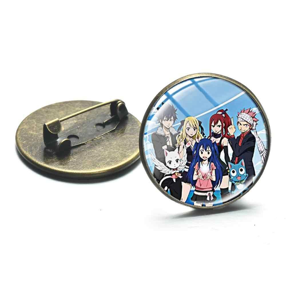 SIAN ญี่ปุ่นอะนิเมะ Fairy Tail Series เข็มกลัด PARTY Brithday ตกแต่ง Pins Badge ที่ชื่นชอบรูปของที่ระลึกแฟชั่นแฟนของขวัญ