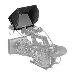 """Image 4 - SmallRig Monitör Kafesi Güneşlik için SmallHD ODAK OLED Serisi 5.5 """"Monitör Koruyucu Kafes + Güneş Kalkanı Hood Kiti  2405"""