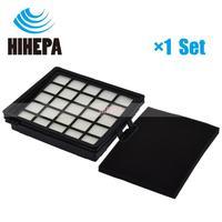 1 conjunto hepa & filtro de espuma para philips easylife fc8071 fc8140 fc8141 fc8142 fc8143 fc8144 fc8146 fc8147 fc8148 parte aspirador de pó