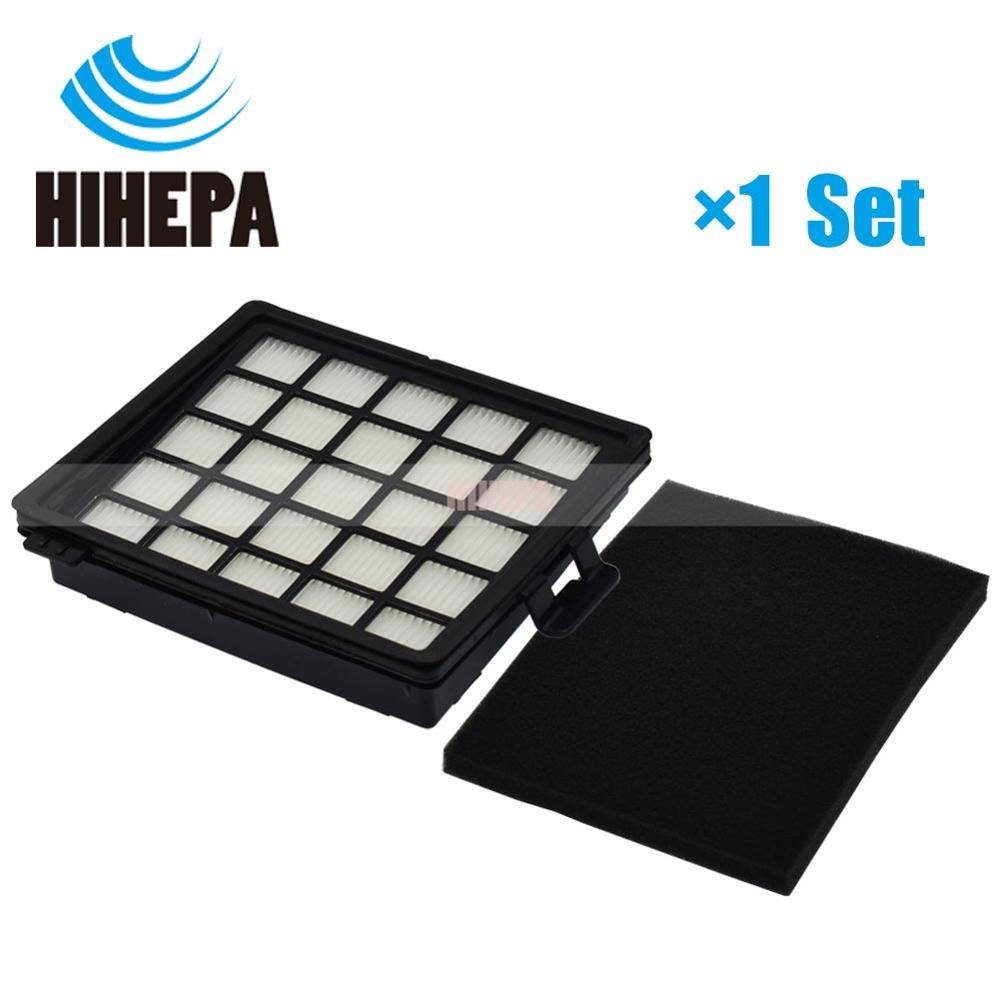 1set HEPA & Foam Filter For Philips Easylife FC8071 FC8140 FC8141 FC8142 FC8143 FC8144 FC8146 FC8147 FC8148 Vacuum Cleaner Part