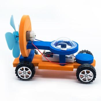 1 Set Kids Model Building Kits Toys Racing Cars For Children Educational Science Learning Technology Boys Girls Logic DIY Games 1