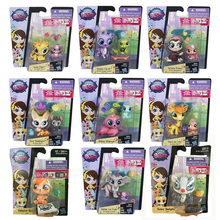 Hasbro Littlest Pet Shop Animal Model Kids Christmas Gifts Cartoon LPS Pets Action Figure Collections Doll Toys Anime Figurine