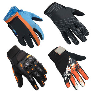 Image 1 - Nonskip Motorcycle Gloves For KTM Racing LOGO Unisex Touch Screen Motocross Gloves Breathable Cycling Racing Riding Motorbike
