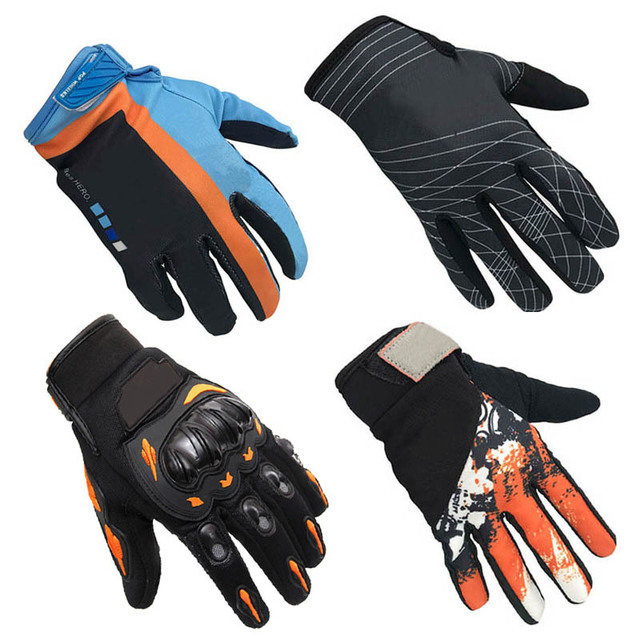 Nonskip Motorcycle Gloves For KTM Racing LOGO Unisex Touch Screen Motocross Gloves Breathable Cycling Racing Riding Motorbike