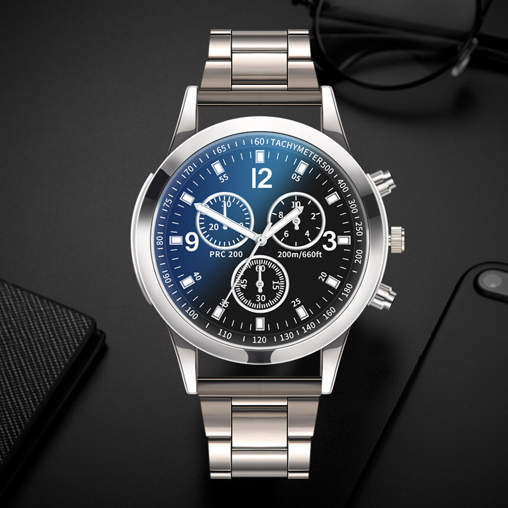 Square Luxury Watches Quartz Watch Stainless Steel Dial Casual Bracele Watch Man Watch CLOVER JEWELLERY