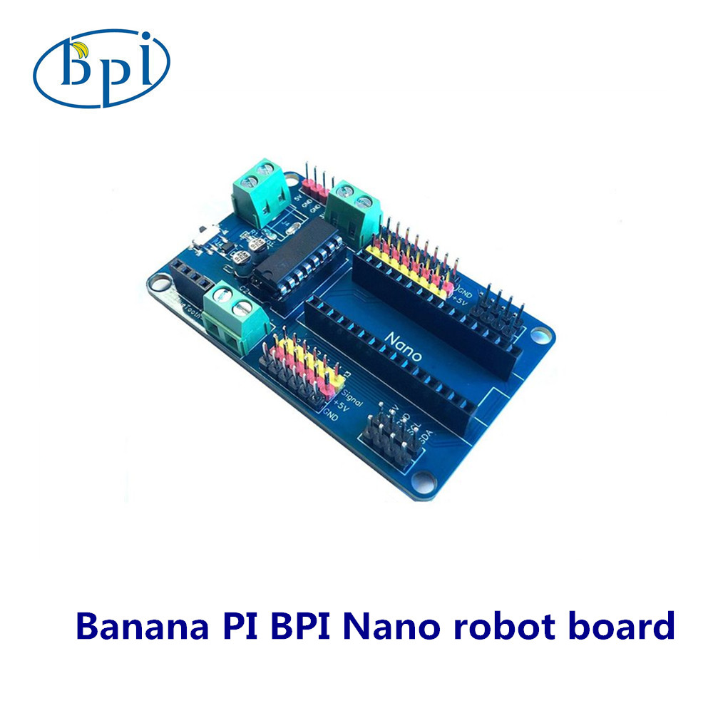Banana PI BPI Nano Robot Board ,motor Drive Expansion Plate