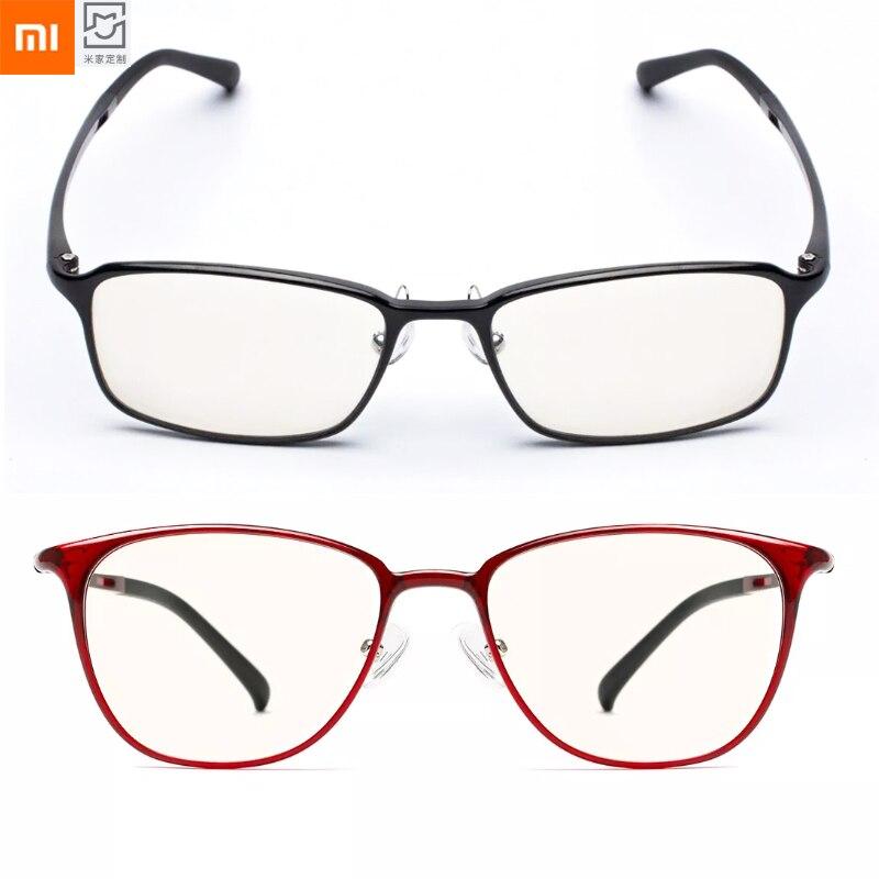 Защитные очки Xiaomi Mijia TS из голубого стекла с защитой от УФ-лучей и усталости, защита для глаз Mi Home TS, очки для мужчин и женщин