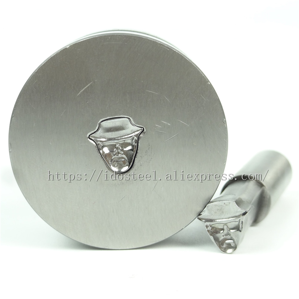 Man With Hat 9x9mm Milk Tablet Die 3D Punch Press Mold,BateRpak Candy Calcium Tablet Punch Pill Press Manual Die