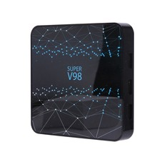 FFYY-pour Smart TV Box V98 RK3318 Ram 4GB Rom 32GB Android 9.0 lecteur multimédia Internet 2.4G WIFI Bluetooth Support 1080P 4K média P(China)