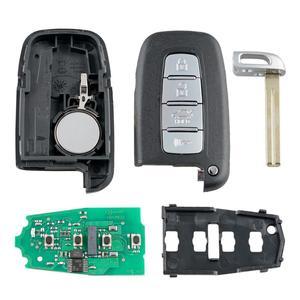 Image 5 - سيارة مفتاح بعيد بدون مفتاح مفتاح ذكي 433MHZ ID46 رقاقة لكيا K5 K2 فورتي سبورتاج ريو لشركة هيونداي سولاريس سوناتا IX35 I30 IX55