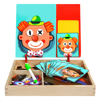 Puzzle magnétique pour enfants
