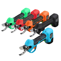 16.8V 500W Cordless Electric Rechargeable Lithium Pruning Shears Secateur Branch Cutter Fruit Pruning Garden Tool 2x Batterys