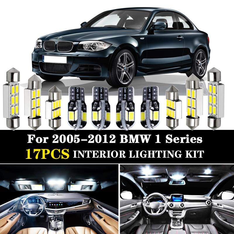 14-PC CEILING DOME INTERIOR LED Bulbs WHITE CAN BUS kit For BMW E90 E91 E92