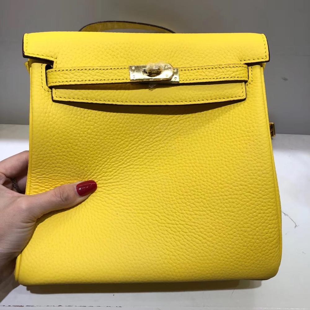 Kafunila Luxury Bags Women Bags Designer Female Backpack Famous Brand Genuine Leather Bags For Women 2019 Mochila Feminina