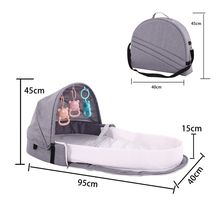 Nappy Backpack Diaper-Bags Changing-Pad Crib-Design Mummy-Bag Waterproof Maternity New