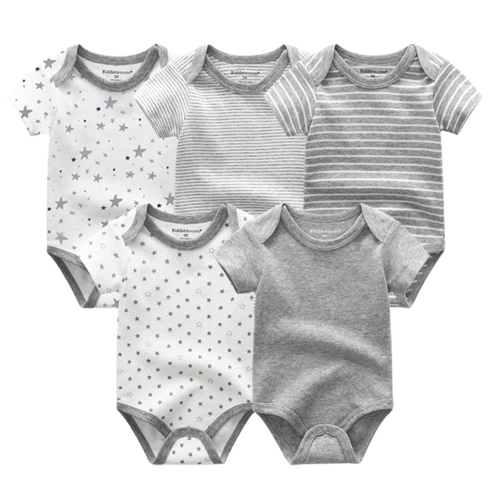 Top Baby Clothes Sets 2020 Newborn rompers Short Sleeve Cottons Girl Boys Baby Clothing Roupas de bebe Jumpsuit