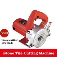 Dolomite Machine Stone Tile Cutting Machine Multifunctional High Power Hydroelectric Wall Slotting Machine|Power Tool Accessories|Tools -