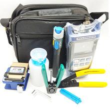 Alta qualidade kit de ferramentas de fibra óptica mão kits de ferramentas de fibra e ferramentas terminais
