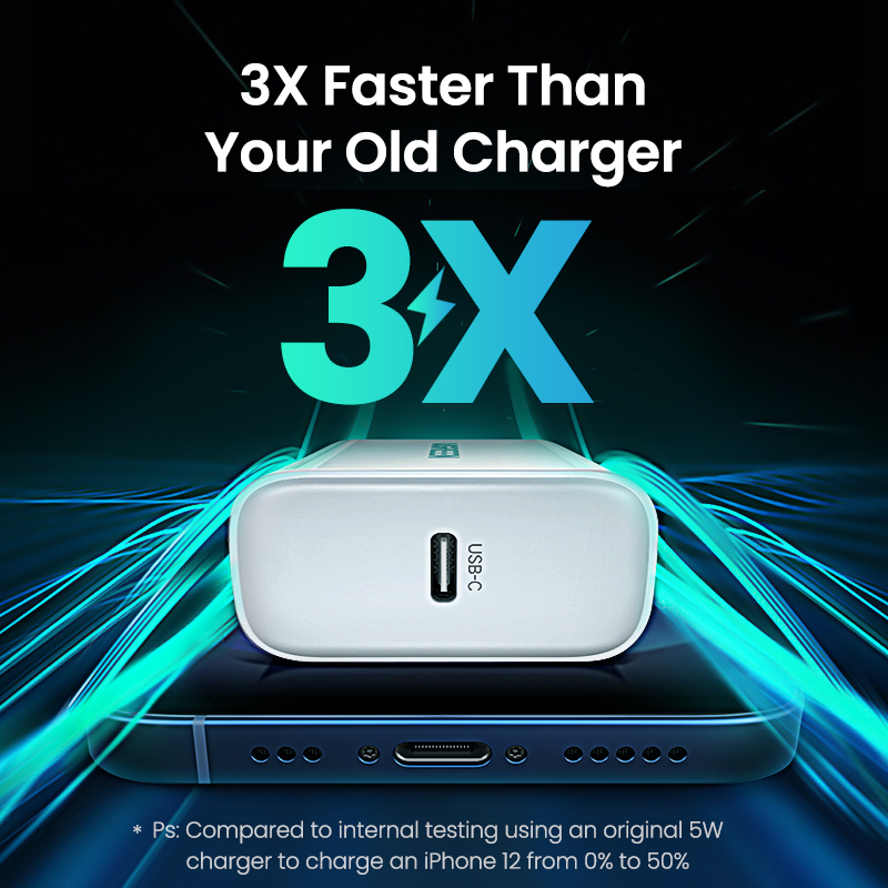 UGREEN Quick Charge 4.0 3.0 QC PD Charger 20W QC4.0 QC3.0 USB Type C Fast Charger for iPhone 13 12 Xs 8 Xiaomi Phone PD Charger 3