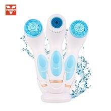 Venda quente facial limpador de rosto elétrico ultra-sônica vibração pele cravo removedor limpeza profunda rosto massagem cuidados com a pele rosto spa