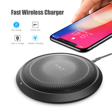Magnetic Wireless Power Bank Fast Charging Pad Light Weight & Portable Charger Slim Qi