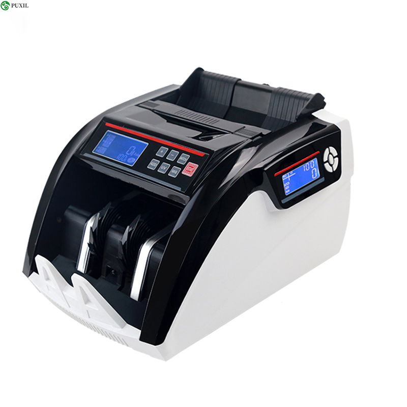 Multi Currency Fake Note Detection Compatible Bill Counter Machine Cash Money Counting Machine Suitable For EURO DOLLAR 5800D